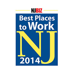 NJBIZ Honors the 2014 Best Places to Work in New Jersey!